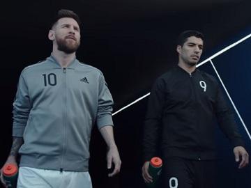 Lionel Messi vs. Luis Suárez Gatorade Commercial