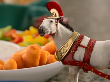 Dr Pepper Cherry Commercial - Horse with Chariot