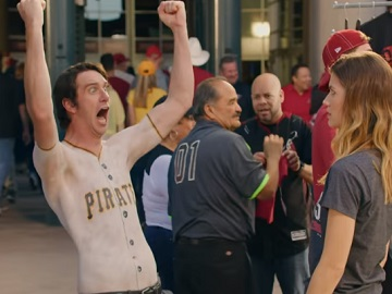 Baseball Fan in GEICO Commercial