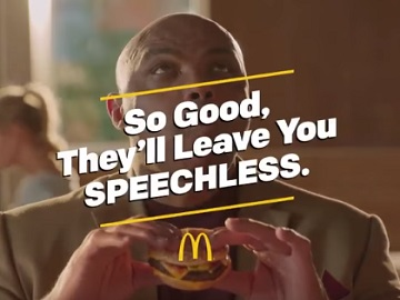 McDonald's Charles Barkley Commercial
