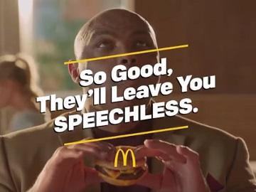 McDonald's Charles Barkley Commercial