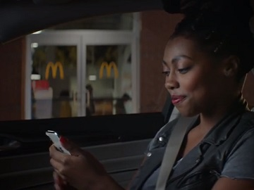 McDonald's Commercial Girl - Mobile Order