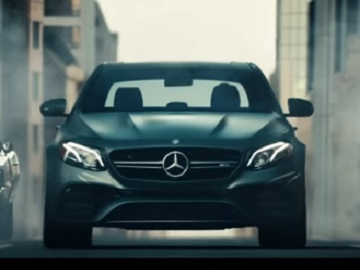Mercedes-AMG E63 S Sedan Commercial