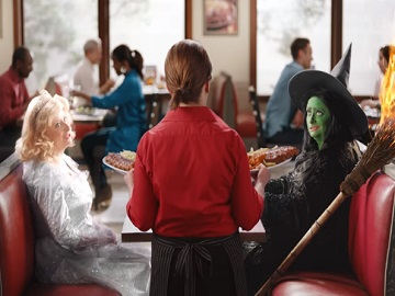 Ruby Tuesday Commercial - Fairy and Witch