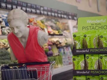 Wonderful Pistachios Commercial - Venus de Milo