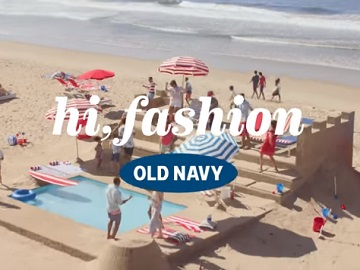 Old Navy Flip-Flops Commercial