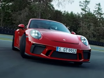 Porsche Taycan Commercial