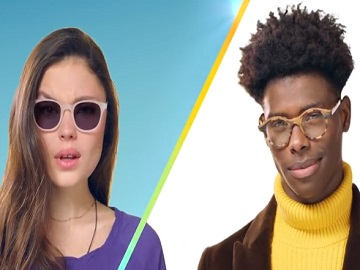 Models in Transitions Lenses Commercial