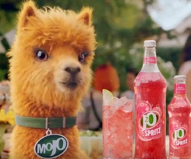 J2O Alpaca Mojo Advert