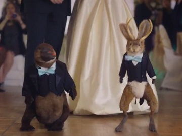 Lunchables Commercial - Jackalope and Platypus Dancing