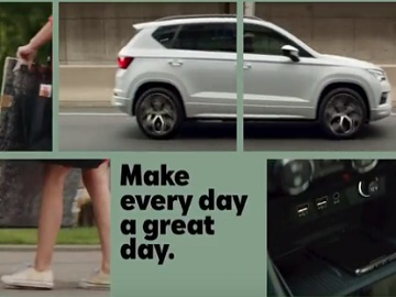 SEAT Ateca Monday Commercial
