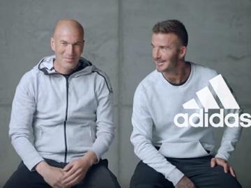 adidas Football Beckham & Zidane Commercial