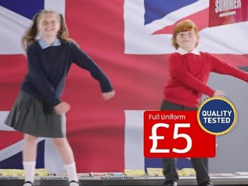 Aldi School Uniform Specialbuys TV Advert