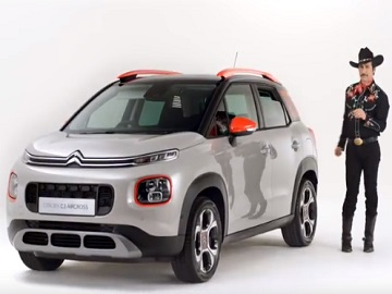 Citroën C3 Aircross SUV TV Advert