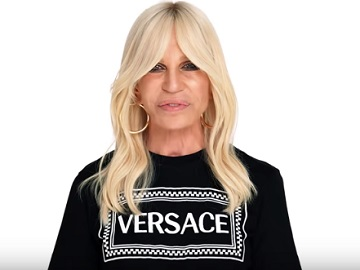 Donatella Versace Commercial