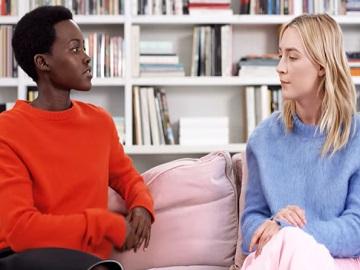 Calvin Klein Commercial - Lupita Nyong'o and Saoirse Ronan