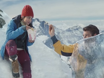 Old Spice Frozen Climber Commercial