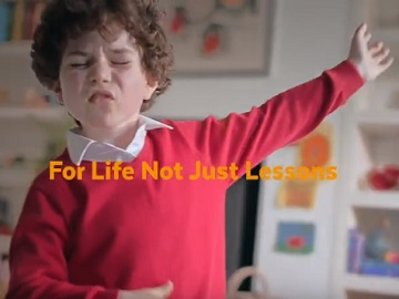 Sainsbury's TV Advert - Kid Dancing