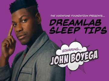 Vodafone DreamLab John Boyega Advert