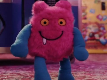 ClearScore TV Advert - Pink Monster Toy