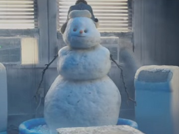 Doritos Snowman Commercial
