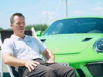 Porsche Paul Casey Commercial