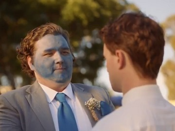Best Man with Blue Face - XXXX Gold Commercial