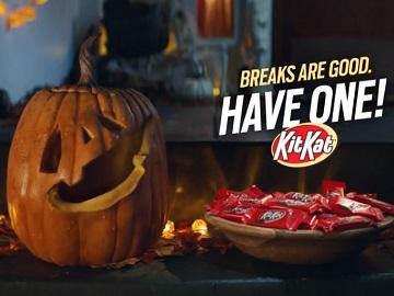 Kit Kat Commercial - Talking Pumpkin