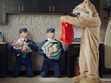 Maytag Man Mascot Commercial