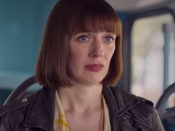Barclays TV Advert Actress - Woman on the Bus