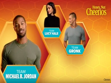 Cheerios Commercial - Gronk, Lucy Hale and Michael B. Jordan