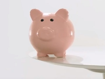 Jack in the Box Piggy Bank Commercial