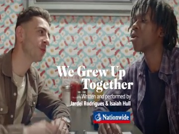 Nationwide TV Advert - Jardel Rodrigues and Isaiah Hull