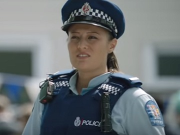 New Zealand Police Girl Commercial