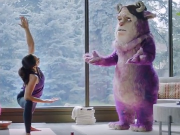 POM Wonderful Worry Monster Commercial - Yoga