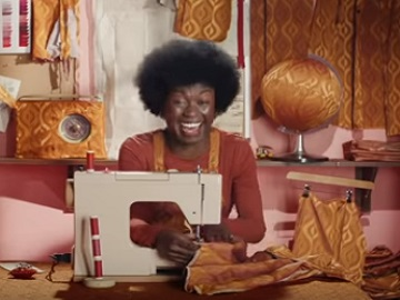 Smart Energy GB Advert - Woman Sewing