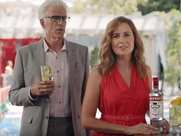 Smirnoff Commercial - Jenna Fischer and Ted Danson
