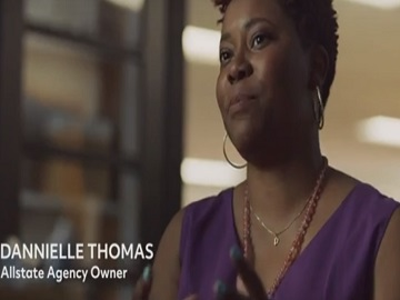 Allstate Agent Dannielle Thomas Commercial
