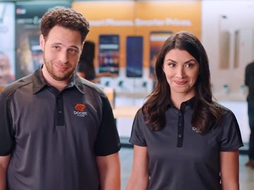Boost Mobile 4 Lines 25 Linemonth Commercial Couple In Boost