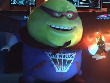 Mucinex Mr. Mucus Superhero Commercial