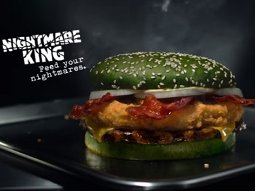 Nightmare King Burger - Burger King Halloween Commercial