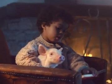 Amazon Echo Spot Commercial - Boy & Little Pet Pig