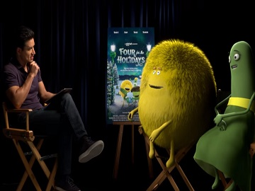 Cricket Wireless Mario Lopez Commercial - Four for the Holidays