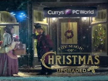 Currys PC World Christmas Advert