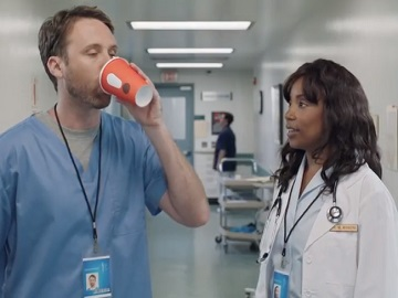 Dunkin' Commercial Actors - Hospital Workers