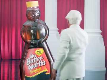 KFC Commercial - The Colonel Dancing with Giant Syrup Bottle