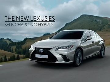 The New Lexus ES Advert