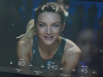 Peloton Blonde Bike Instructor Commercial - Feat. Leanne Hainsby