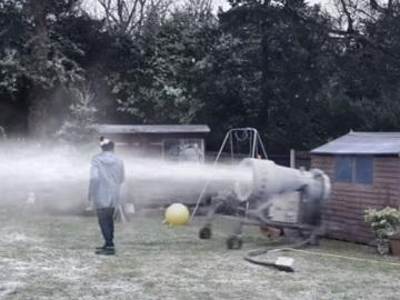 Lidl UK Advert - Snow Cannon