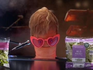 Aldi Elton John Carrot Advert
